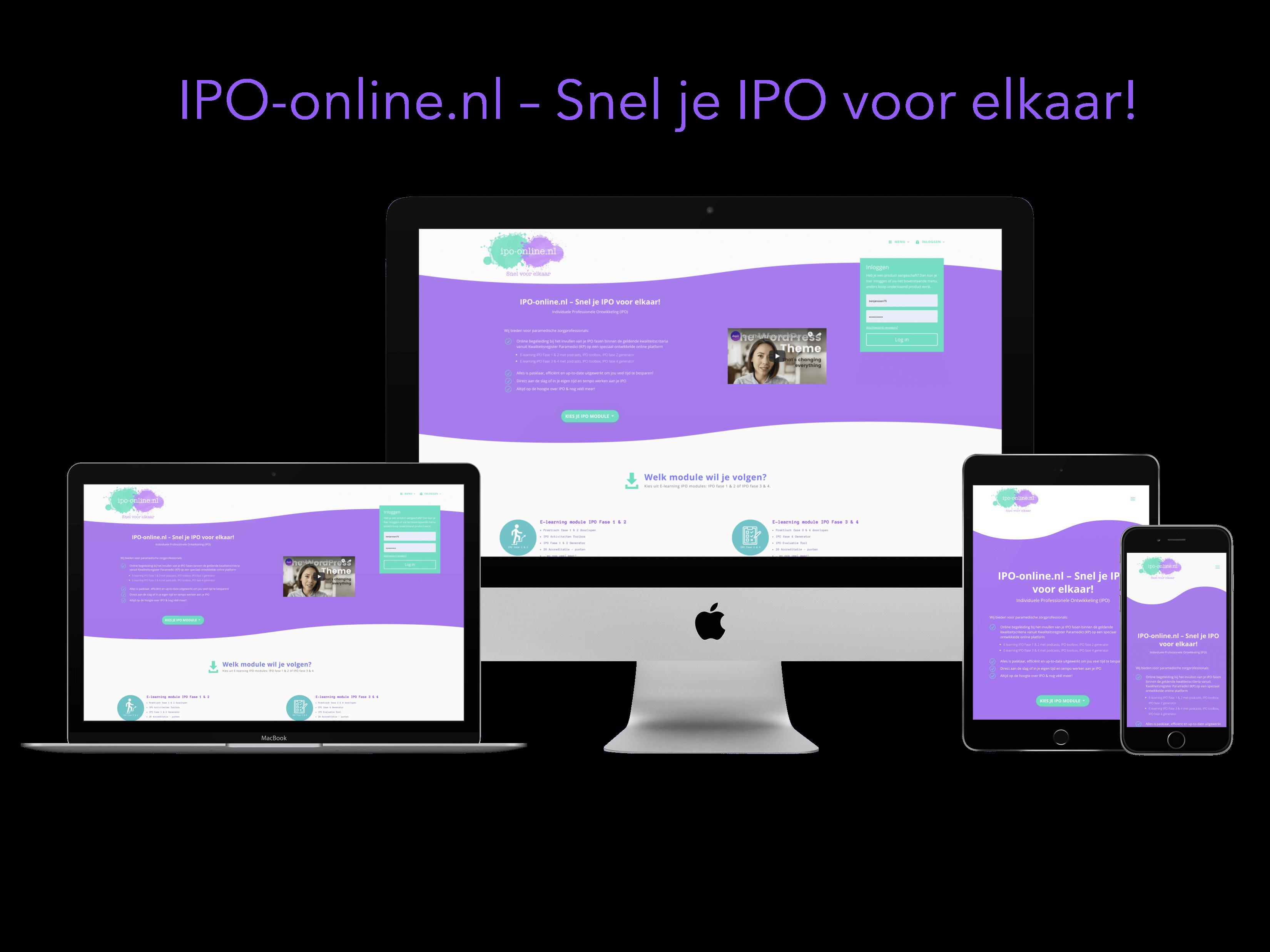 Lancering ipo-online.nl - IPO scholing 1